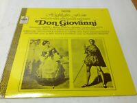 Highlights from Mozart Don Giovanni Vinyl Record LP Symphony Orchestra & Chorus