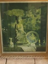 original lithograph hand sined by Hovsep Pushman 1877 -1996 (Golden yesterday)