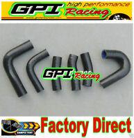 GPI silicone radiator hose Honda Magna VF1100C V65 VF 100C VF100C VF 1100C BLACK