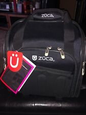 Zuca Skipper - Compact Rolling Suitcase w Telescoping Handle, Laptop Compartment