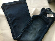 Flared 70s Style Distressed 10 Ladies Jeans BNWT Fancy Dress