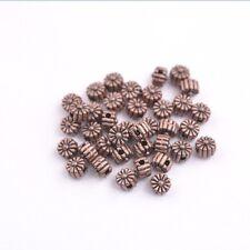100PCS Tibetan Silver Spacer beads Flowers Bead Caps Findings 8MM JK3115