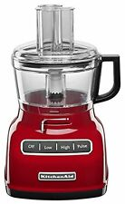 KitchenAid KFP0722ER 7 Cup Food Processor with Exact Slice System  Empire Red