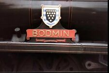 Photo Steam Loco nameplate 6X4 SR West Country Bodmin 2