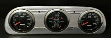 1960 1961 1962 1963 FORD FALCON 3 GAUGE GPS DASH PANEL CLUSTER BLACK