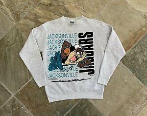 Vintage Jacksonville Jaguars Taz Looney Tunes Football Sweatshirt, Size Medium