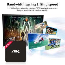 MediaVISION- Octa Core 4K Smart TV Box- Android TV- 2G/8G- WiFi Media Streamer