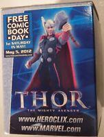 Marvel Comics 2012 Free Comic Book Day Thor Miniature Action Figure MIB
