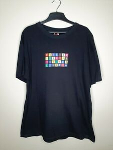 The Beatles Apple Corps 2006 Classic Rock Logo Size L T Shirt