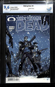 Walking Dead # 5 - CBCS 9.6 WHITE Pages - Death of Amy - Tony Moore Cover