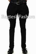 Mens Black Breeches Pants Jodhpurs Polo Baggy Breeches Horse Riding Pants