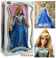 "Disney Princess Limited Edition Collector Sleeping Beauty Aurora Doll 17"" Blue"