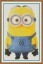 Minion 1 Cross Stitch Chart x 12.0 x 7.7 Inches