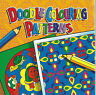 DOODLE COLOURING PATTERNS 80 PATTERNS FOR ALL AGES BOOK ORANGE COVER