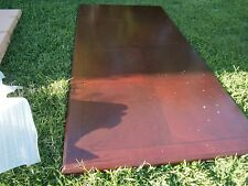 8' Conference table with 4 legs (Local pick up) Keswick Collection