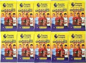 20 x 2020 2021 PANINI Adrenalyn EPL Soccer Trading Card Sealed Packs 60 Cards