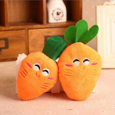 Cute Puppy Pet Supplies Carrot Plush Chew Squeaker Sound Squeaky Dog Toys Hot