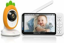 """Dragon Touch Baby Monitor with Camera 4.3"""" HD LCD Screen 2.4GHz Wireless Night V"""