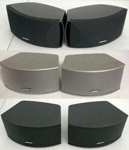 🎵Pair of Bose 321 3-2-1 Cinemate Gemstone Speakers - for I II or III GS, TESTED