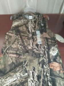 Clothing Men's Mossy Oak Camo Sleeveless Crew T-Shirt size M NWT