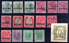 MALTA REVENUES USED SELECTION, 16 STAMPS