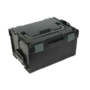 Sortimo Systemkoffer L-Boxx 238 schwarz / Industrial Line passend zu Bosch