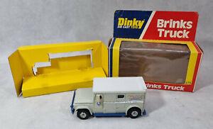 Vintage Dinky Brinks Truck, Dinky 275, 1979, US Packaging Version, Boxed Diecast