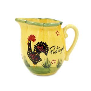 Hand-painted Decorative Traditional Portuguese Ceramic Creamer #569