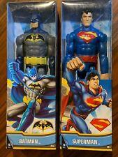 "Mattel Unlimited Superman and Batman 9 Articulation Points 12"" Action Figures"