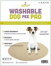 Zampa Pets quality whelp Round, Circular Shape Reusable dog Pee Pads 32 Round