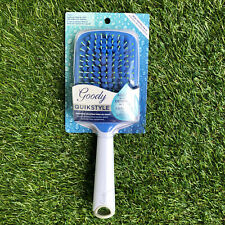 Goody QuickStyle Paddle Hair Brush Microfiber Brush Absorbs and Detangles 08994