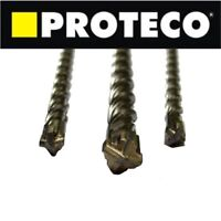 SDS PLUS SDS+ Drill Bit Bits Professional Masonry Concrete Brick Cross Head End