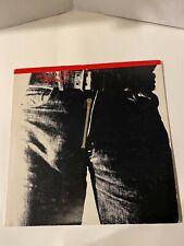 "ROLLING STONES ""Sticky Fingers"" MFSL Original Master Japan Vinyl Record Album LP"