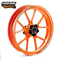 KTM 125 DUKE wheel rim stickers decals - choice of 20 colours -