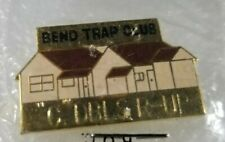 "Bend Trap Club ""C"" Dbls R-Up / Lapel Hat Pin / Trap & Skeet Shooting / Oregon"