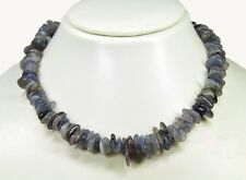 Beautiful Necklace from the Gemstone iolith-wassersaphir