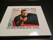 "COFFRET DIGIPACK 2 CD ""GUY CARLIER - CHRONIQUES XXL"""