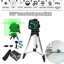 360 Degree self Laser level 12 lines green light Infrared Ray 3D laser leveling