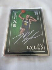 2015-16 Panini LUXE BKB #LX-TLY Trey Lyles Utah Jazz FRAMED AUTOGRAPH RC #/49 !!