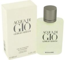 Aqua Di Gio Cologne by Giorgio Armani 3.4 / 100 ml. Spray for Men EDT. **NIB**