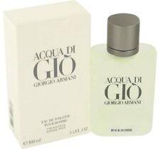 Aqua Di Gio Cologne by Giorgio Armani 3.4 / 100 ml. Spray for Men Edt. *Nib*