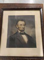 Abraham Lincoln Lithograph 1894 Cyrus Cobb antique hand colored