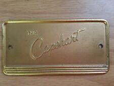 The Capehart Radio Name Plate