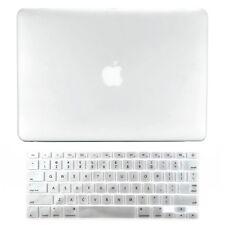 "Unik Case-2 in 1 Matte Hard Case & Silicone Skin for Macbook Pro 13"" -Clear"