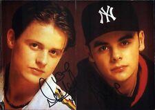 PJ & Duncan Duo England Musik Original Autogramm Autograph Agfa Foto (O-2018