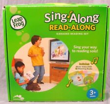Leap Frog Sing Along Read-Along Karaoke Reading Set DVD with 12 Matching Books