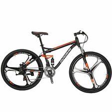 """Full Suspension Mountain Bike 27.5"""" Shimano 21 Speed Men's Bicycle Sports MTB"""