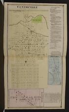 Michigan St Joseph County 1872 Centreville, Nottawa, Leonidas, Double Page Y9#01