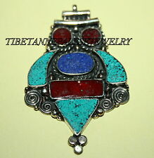 Nepalese Turquoise spacer Necklace Spacer 1 Nepal spacer beads tibet spacer 609