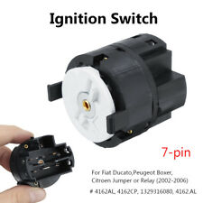 7 Pin Ignition Lock Barrel Starter Switch For Fiat Ducato Peugeot Citroen 02-14